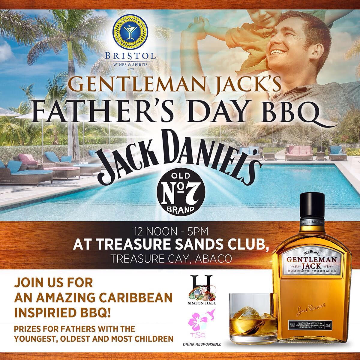 fathers' day flyer